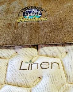 Linen mattress - natural, breathable fabric